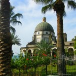 The Church of the Beatitudes on the Sea of Galilee