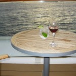 Balcony Cocktails on the Celebrity Equinox