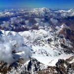 Above the Andes