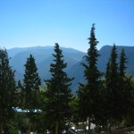 Mountains north of Athens