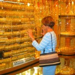 The Gold Souk in Old Dubai