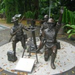 Memorial Commemorating the Defense of Singapore