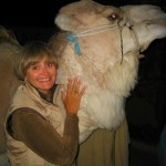 A Cuddly Camel at the Planet Oasis