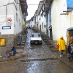 A Typical Cusco Street