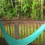 A Hammock for our Leisure Time in our Open Air Room