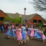 Maypole Dancers at the Fesitival of St. George