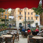 Outdoor Cafe in Fascati