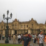The Plaza Mayor in Lima