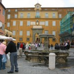The Summer Home of the Pope at Castel Gandolfo