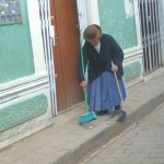 A Little Tidying Up in Puno - the Party City