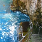 Rough Water at the blue Grotto