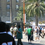 A Minor Riot in Downtown Santiago