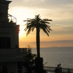 Sorrento Sunset at the Foreigner's Club Terrace