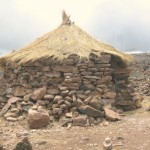 A Stone Shelter on the Altiplano
