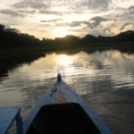 Sunrise on the Amazon