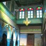 Inside the El-Ghriba Synagogue