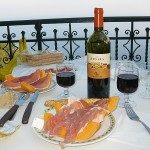 A Picnic on the Terrace at Taormina