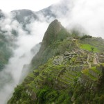 The Terraces of Machu Picchue