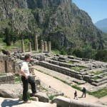 The Site of the Oracle at Delphi