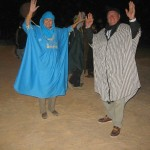 Campfire Dancing with the Bedouins