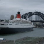 """QE2 and The """"Coathanger"""""""