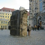 A Chunk of the Old Dome from the 1945 Bombing WWII