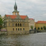 Old Prague as Seen from the Vltava River
