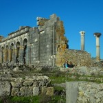 Among the Ancient Ruins of Volubilis