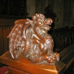 A Carving Inside the Cathedral of St. Michael's