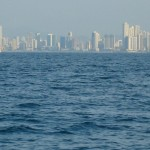 The City of Panama from the Anchorage on the QE2
