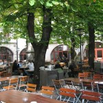 The Courtyard of the Old Hofbrau House