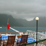 Docking in the Cyclone in Pago Pago