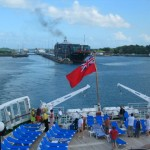 Entering Gatun Lake After Clearing the Gatun Locks