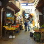 The Souk in the Medina - Fes