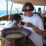 Tasting the Kava - Needs to be Chased with a Rum Punch (quickly)