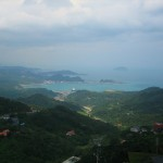 Above Keelung Harbor