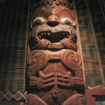 Maori Carving at the National Museum