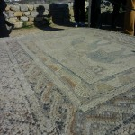 Mosaic at a Well-to-do Roman's Residence