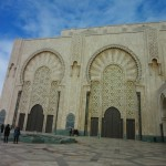 A Side Entrance to the  Hassan II Mosque