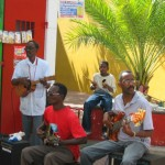 Musicians on the Streets of Curacao