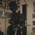 An Old Projector in the Third Man Museum