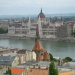 The View of Parliament from the Fisherman's Bastion