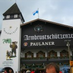"The Paulaner Beer Hall ""Tent"""