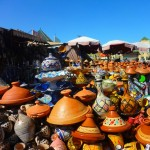Tagines for Sale at the Meknes Souk