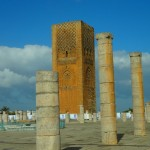 the Ruins of the Hassan Mosque and Prayer Hall