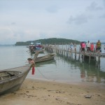The Rather Rickety Pier at Phang Nga Bay