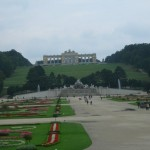 The Gloriette of the Schonbrunne Palace