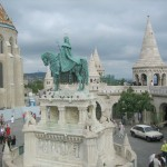 Statue of King Mattias at the Fisherman's Bastion