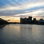 Sunset at the Melbourne Waterfront