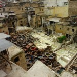 The Tannery in the Fes Medina